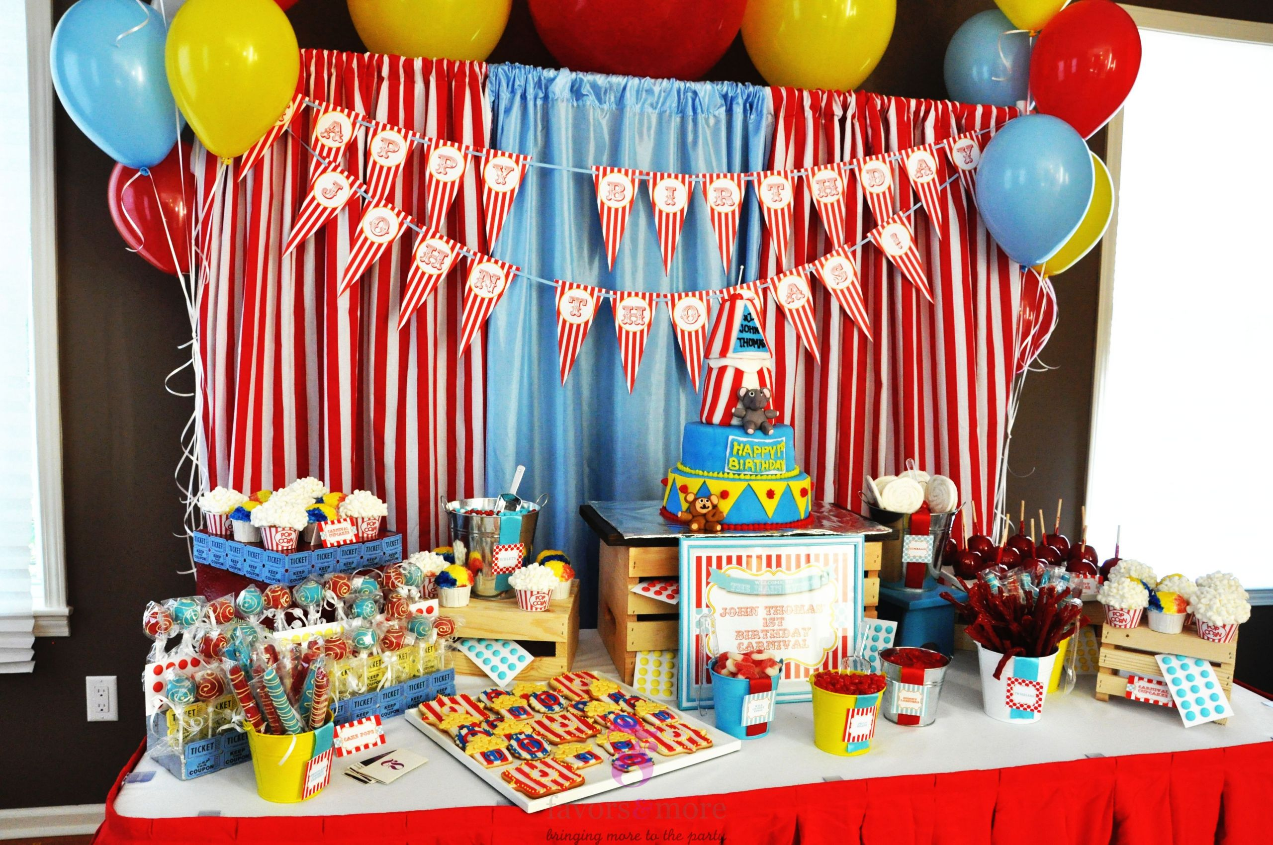Carnival Kids Party  15 Best Carnival Birthday Party Ideas Birthday Inspire
