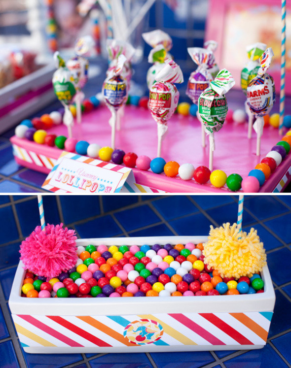 Carnival Kids Party  Carnival theme party inspiration DIY party ideas