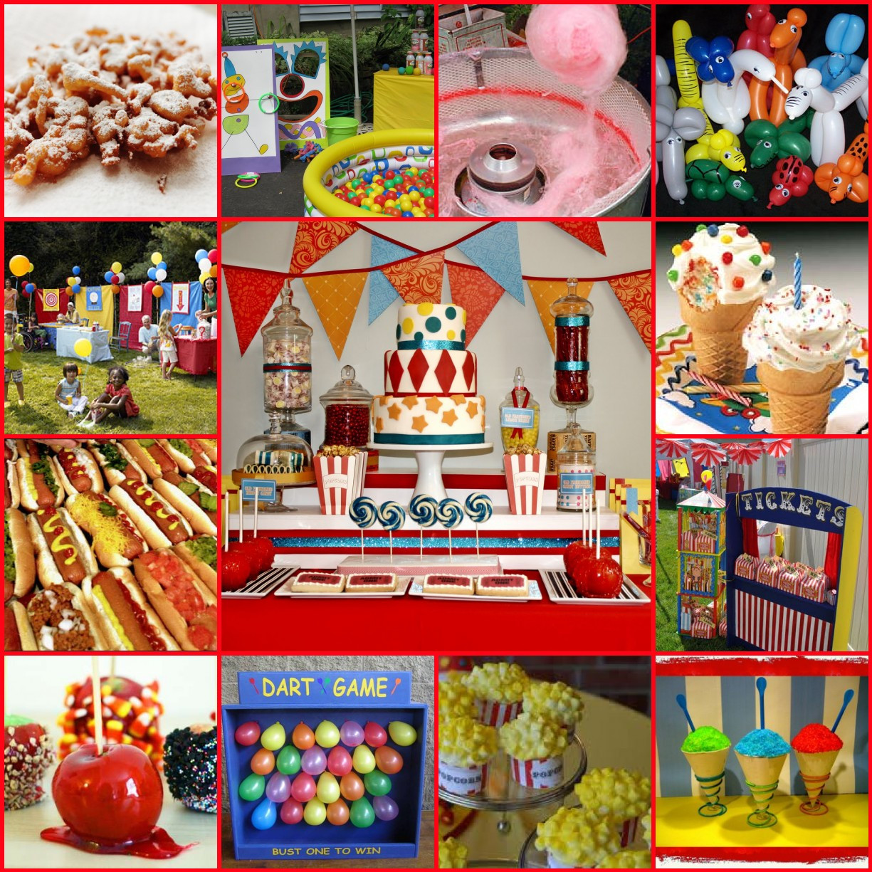 Carnival Kids Party  Kids Birthday