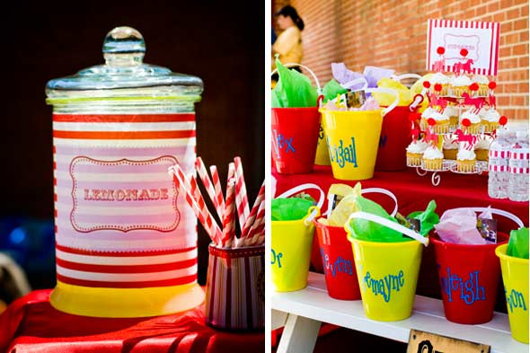 Carnival Kids Party  carlosca01 Kids Party Ideas A Cheery Carnival Party