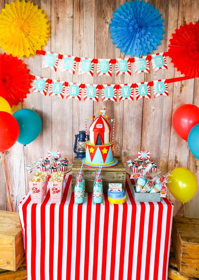 Carnival Kids Party  10 Most Popular Kids Party Themes