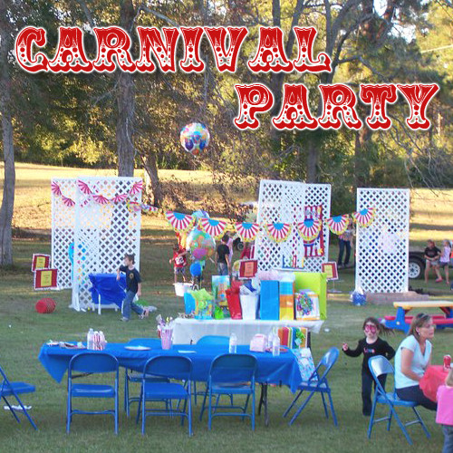 Carnival Kids Party  Carnival Party Ideas Caden s 2nd Birthday Party Carnival
