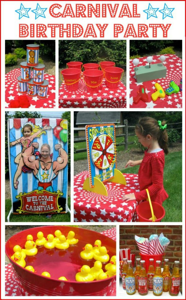 Carnival Kids Party  10 Summertime Birthday Party Ideas For Kids