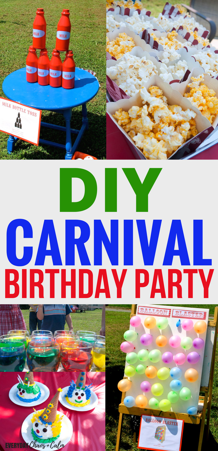 Carnival Kids Party  How to Throw an Amazing Carnival Birthday Party