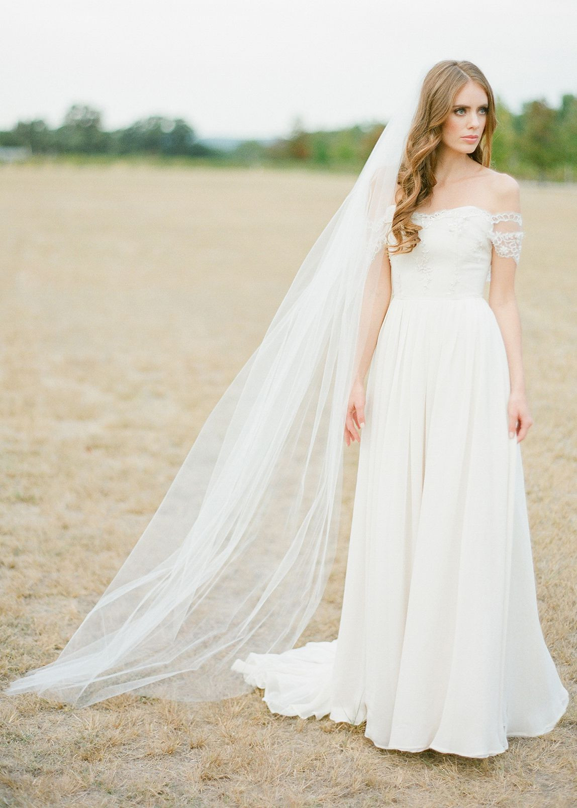 Cathedral Length Wedding Veil  WYNTER
