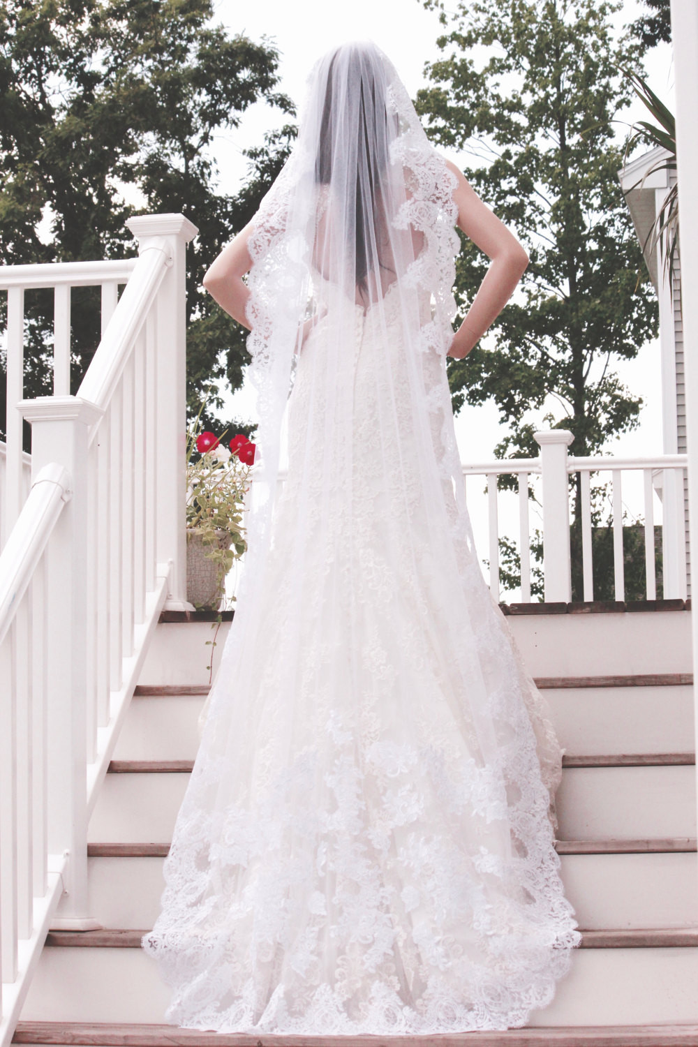 Cathedral Length Wedding Veil  Cathedral Length Wedding Veils e Tiers Cathedral Veils