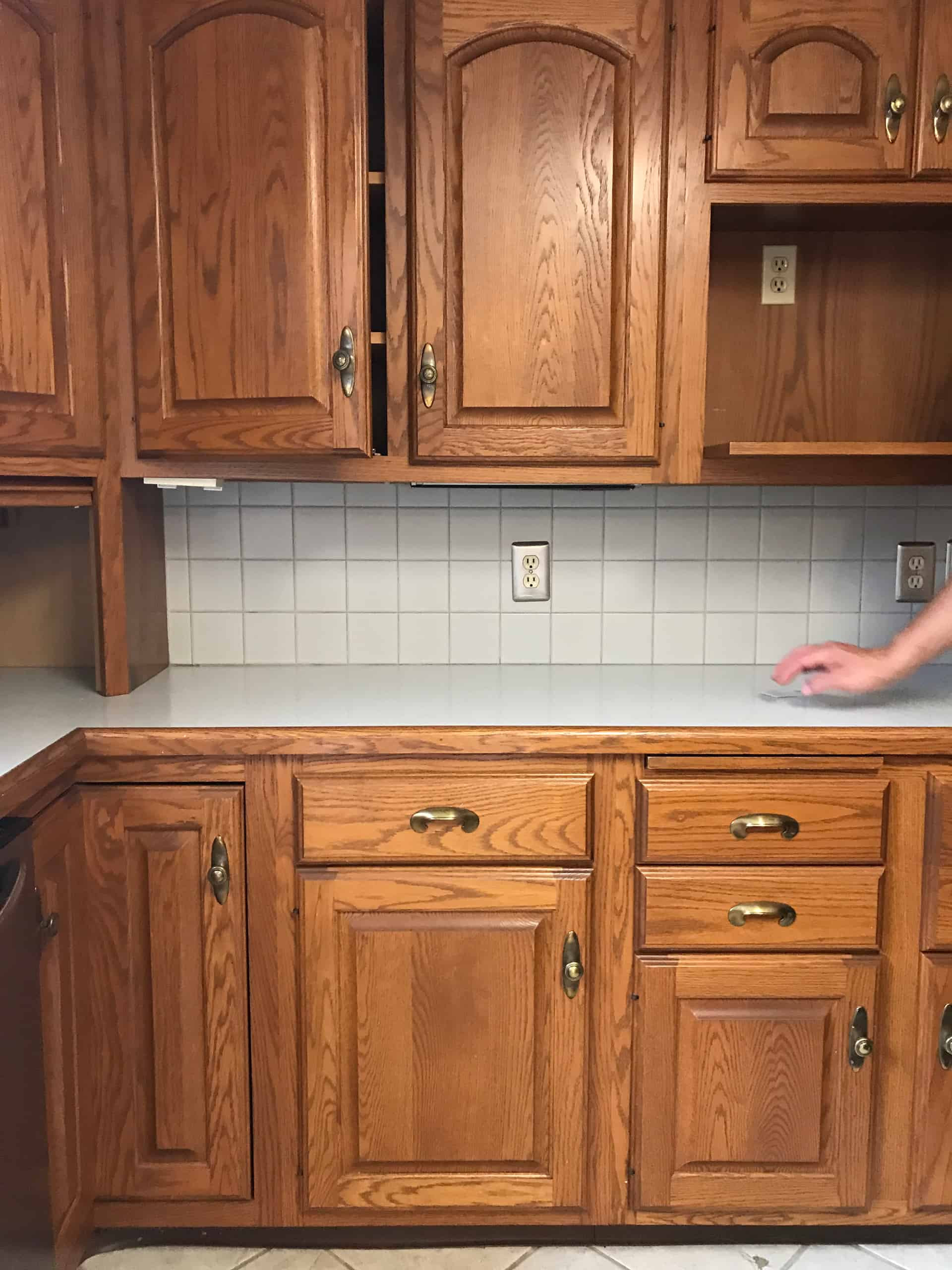 Chalk Paint Kitchen Cabinets Before And After  Painting Cabinets with Chalk Paint—Pros & Cons A