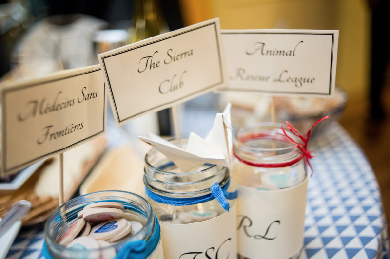 Charity Wedding Favors  Have fun and give freely with these charitable wedding