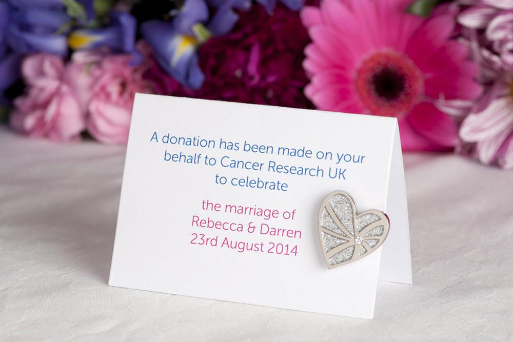 Charity Wedding Favors  Charity Wedding Favors