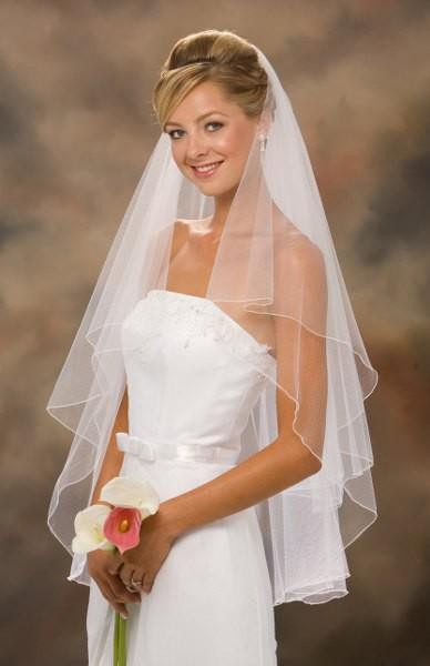 Cheap Wedding Veils With Comb  Cheap Short Wedding Veil With b White Ivory Bridal