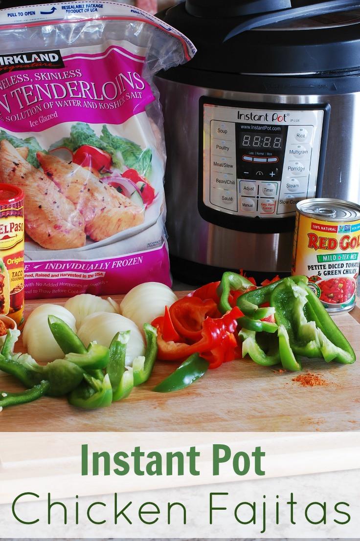 Chicken Fajitas Instant Pot  Instant Pot Chicken Fajitas with a slow cooker option