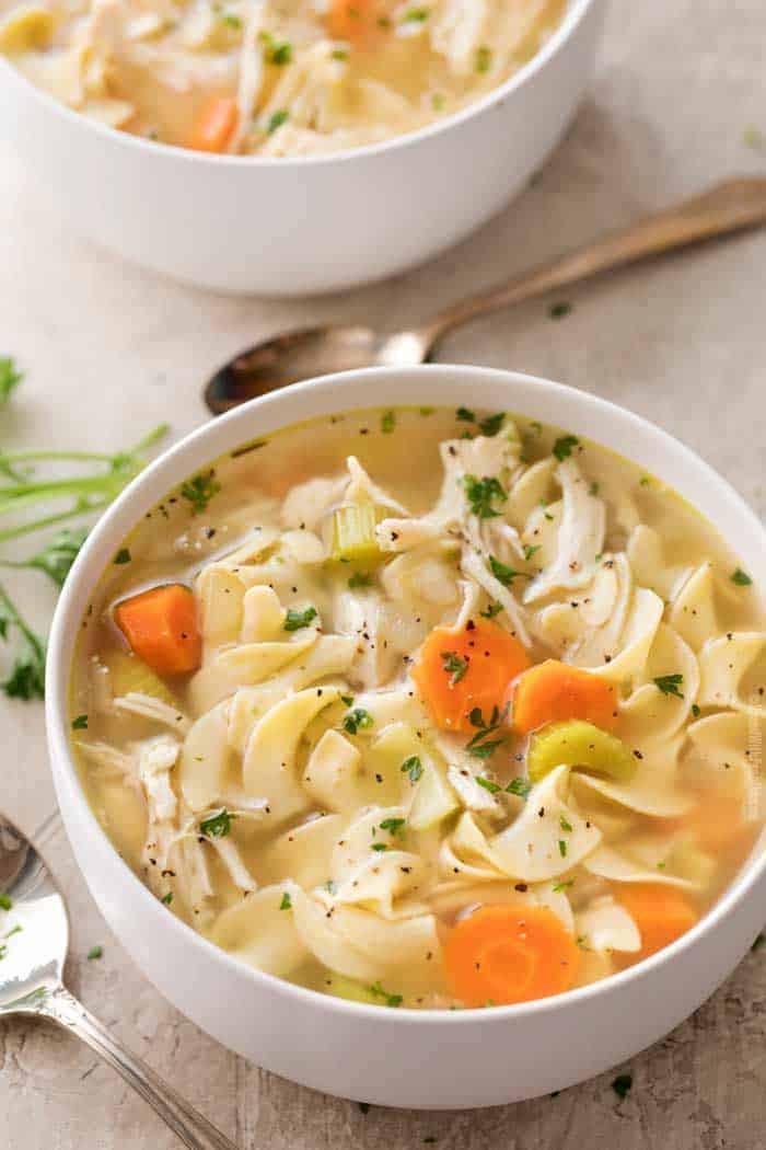 Chicken Noodle Soup In Crock Pot  Crockpot Chicken Noodle Soup Spend With Pennies