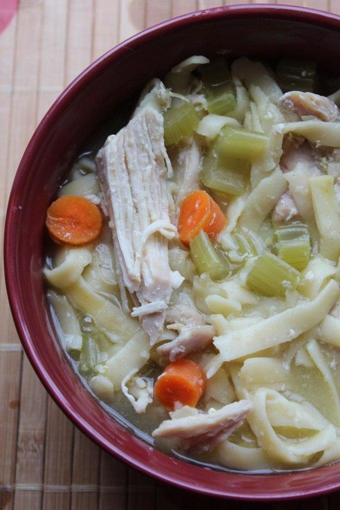 Chicken Noodle Soup In Crock Pot  Crock Pot Chicken Noodle Soup