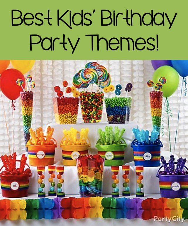 Child Birthday Party Supplies  Best Kids' Birthday Party Themes 7 Great Ideas