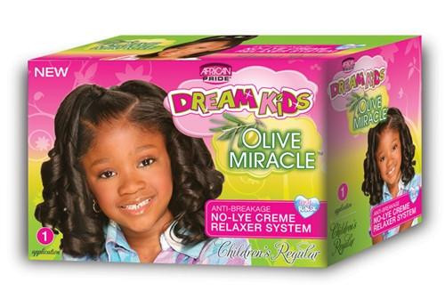 Child Hair Relaxer  African Pride Dream Kids Olive Miracle Anti Breakage