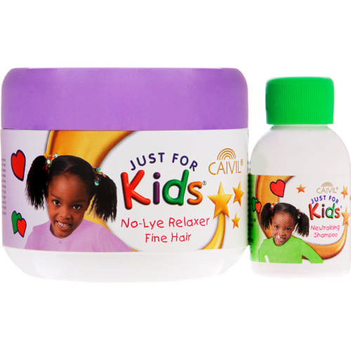 Child Hair Relaxer  Just For Kids Relaxer and Neutralising Shampoo Fine Hair