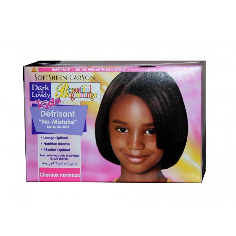 Child Hair Relaxer  Softsheen Carson Dark & Lovely Beautiful Beginnings Kids