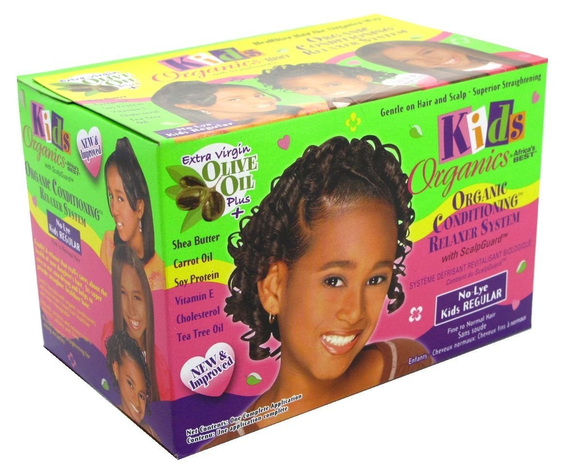 Child Hair Relaxer  Africa's Best Kids Organic Conditioning Relaxer System