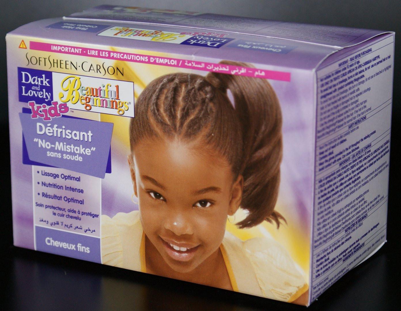 Child Hair Relaxer  Dark and Lovely Kids Fine Hair Relaxer Kinder Kosmetik