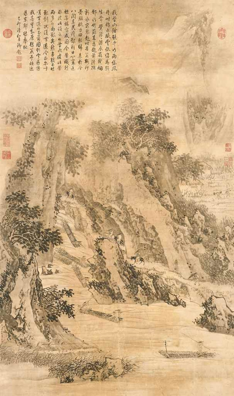 Chinese Landscape Paintings  How to appreciate Chinese landscape paintings