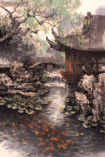 Chinese Landscape Paintings  Zhao Wuchao Chinese Landscape Painting Blog of an Art