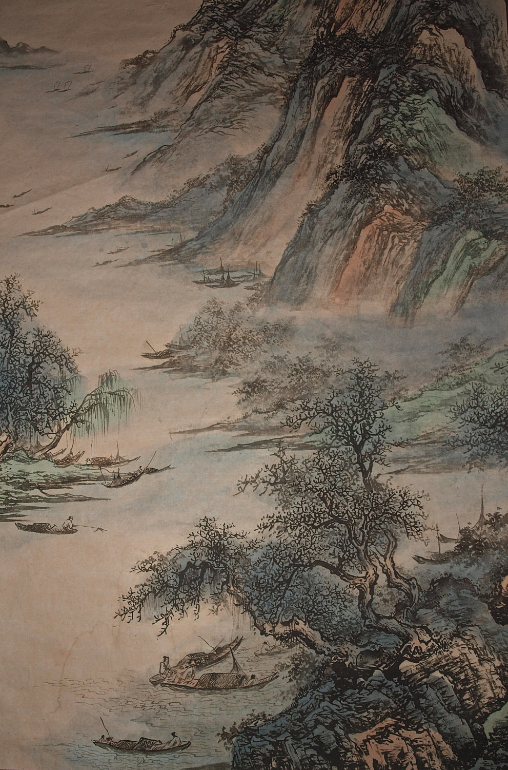 Chinese Landscape Paintings  Traditional Chinese Landscape Painting Vintage Chinese Ink