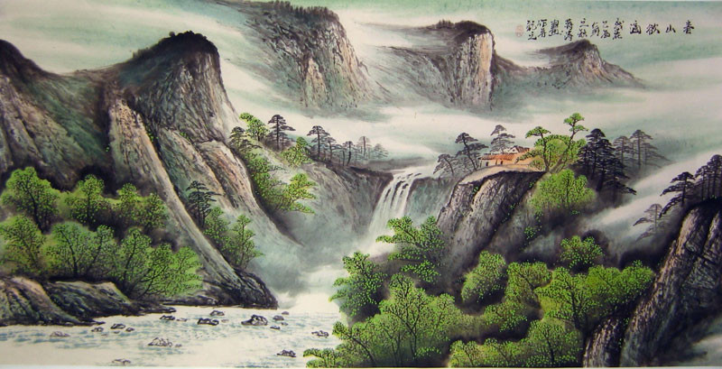 Chinese Landscape Paintings  1000 images about chinese art on Pinterest