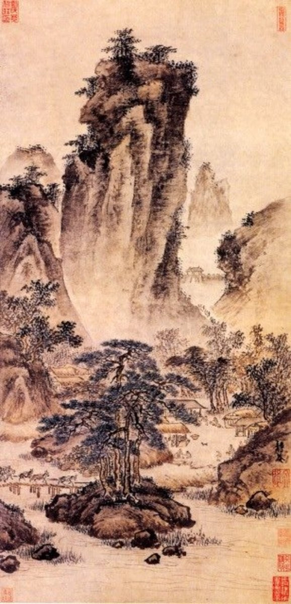 Chinese Landscape Paintings  Chinese Landscape Paintings