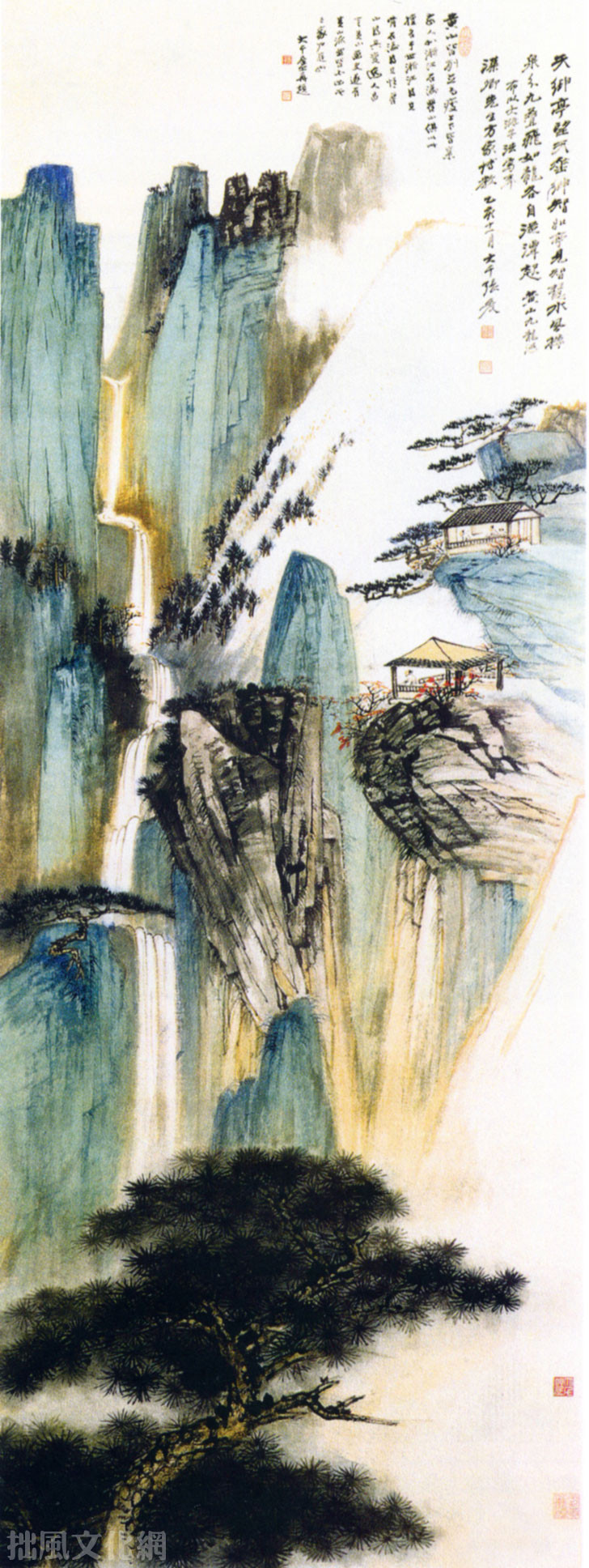 Chinese Landscape Paintings  Bonsai Style Chinese Penjing and Landscape Paintings