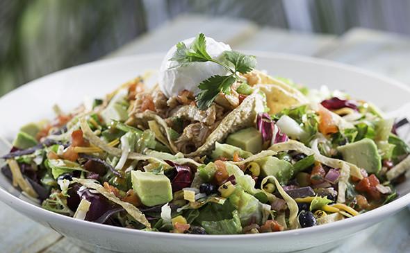 Chipotle Chicken Salad  Chipotle Chicken Taco Salad Menu