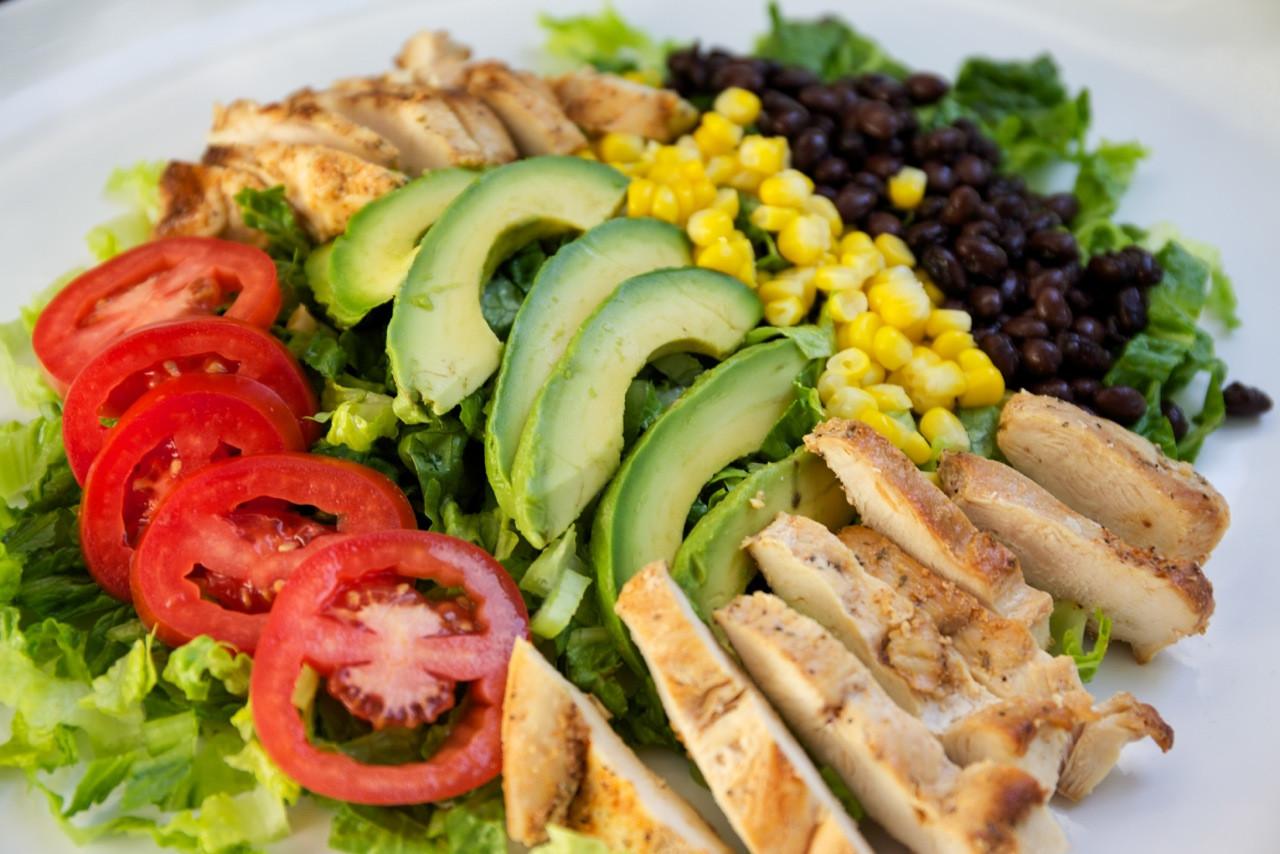 Chipotle Chicken Salad  Chipotle Chicken Salad — My Healthy Dish