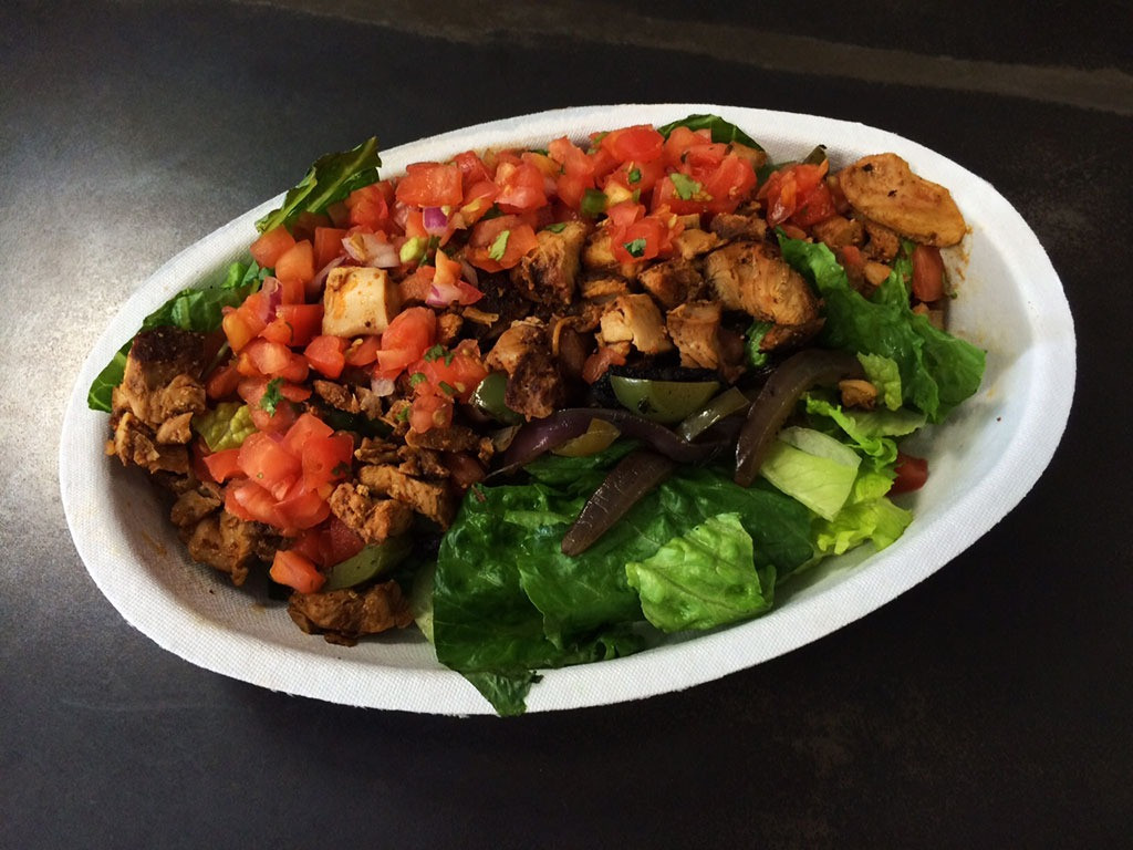 Chipotle Chicken Salad  Your Survival Guide for 20 Fast Food Joints
