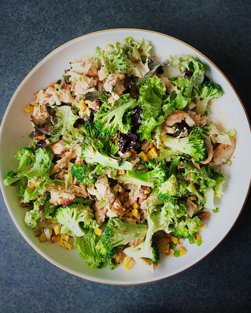 Chipotle Chicken Salad  Pulled Chipotle Chicken Salad