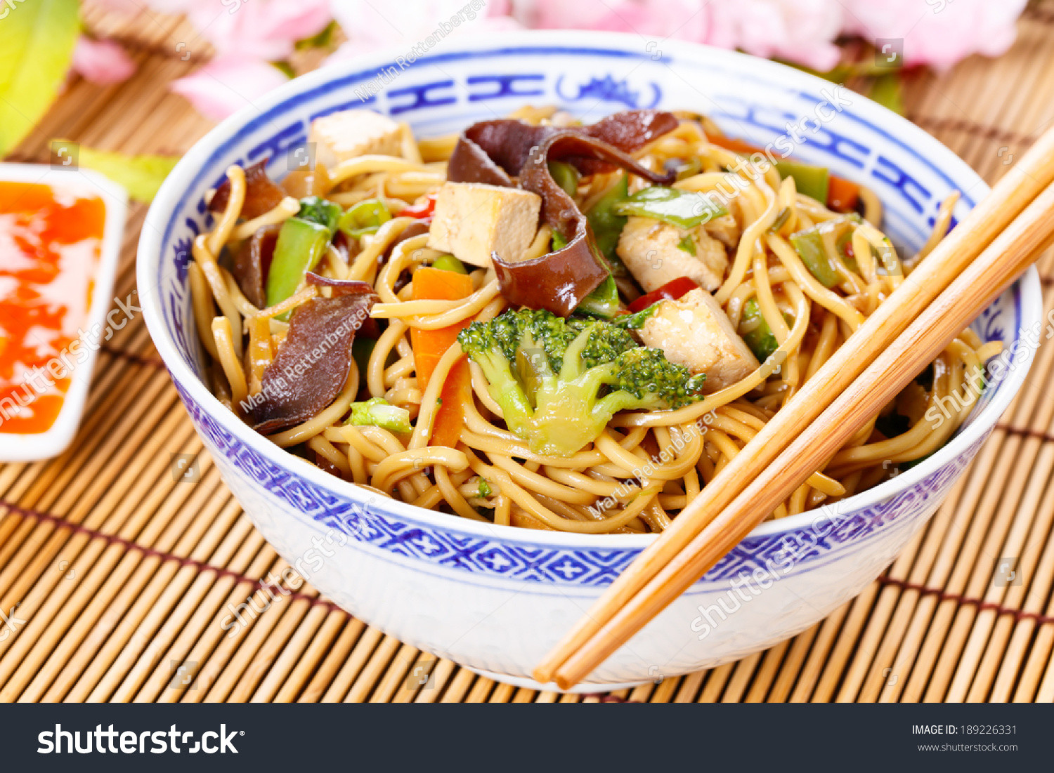Chow Mein Stir Fry Noodles  Chow Mein Stirfried Noodles Ve ables Stock