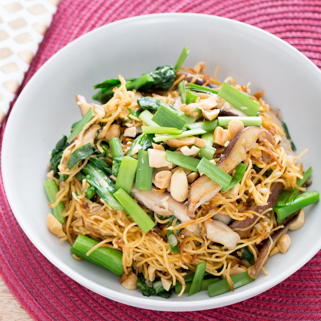 Chow Mein Stir Fry Noodles  Recipe Stir Fried Chow Mein Noodles with Chinese Broccoli