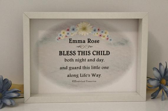 Christian Baby Gifts Personalized  Christian Baby Gift Baby Gift Personalized by