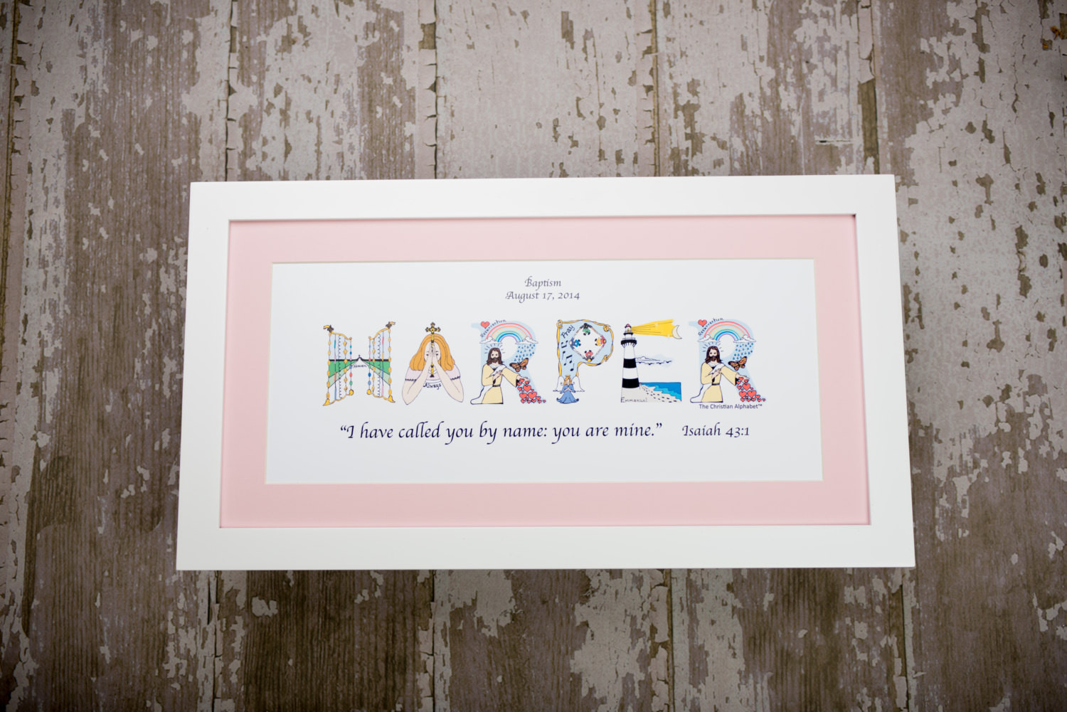 Christian Baby Gifts Personalized  Girls Baby Christening Gifts Personalized Christian Gifts