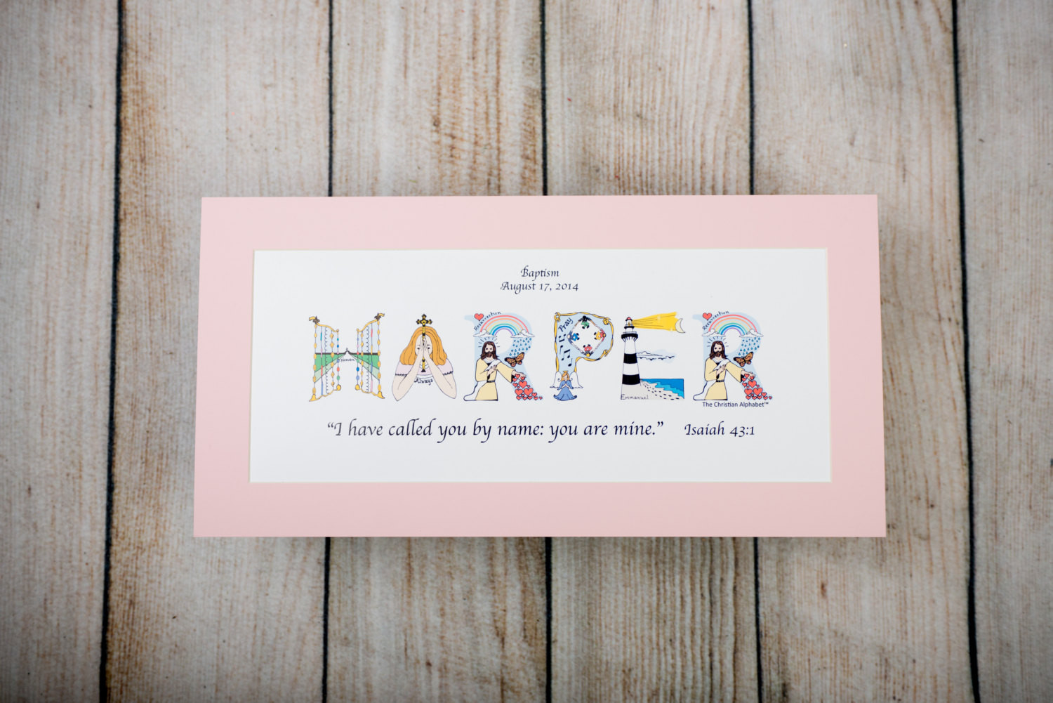 Christian Baby Gifts Personalized  Baby Girl Christening Gifts Personalized Christian Gifts