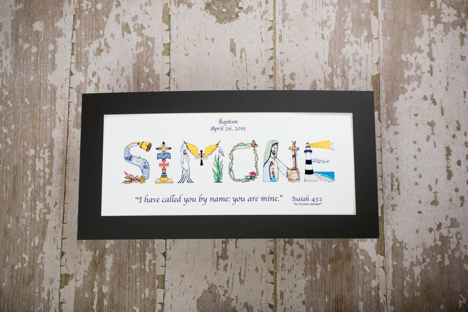 Christian Baby Gifts Personalized  Baby Dedication Gift Personalized Christian Gifts
