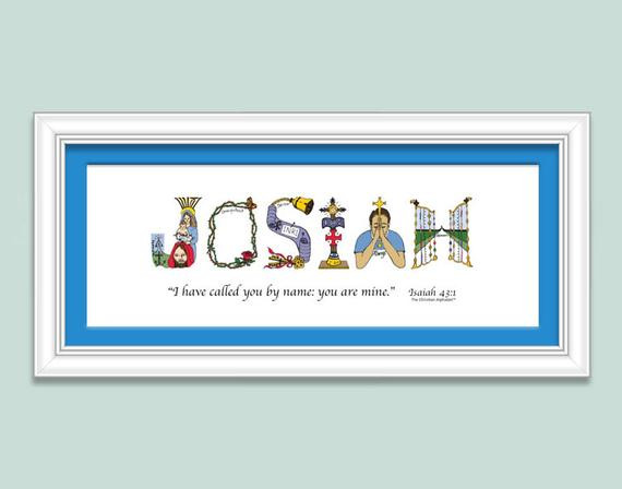 Christian Baby Gifts Personalized  Christian Baby Gift Sign Personalized for by