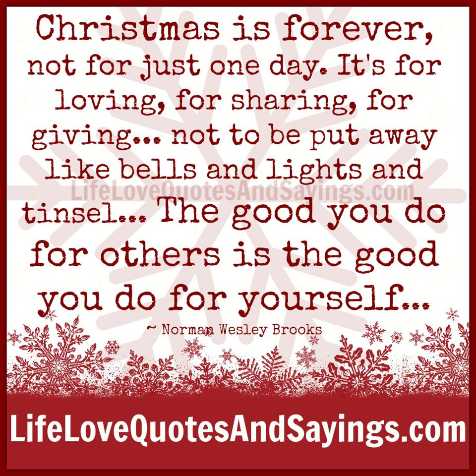 Christmas Day Quotes  After Christmas Quotes QuotesGram