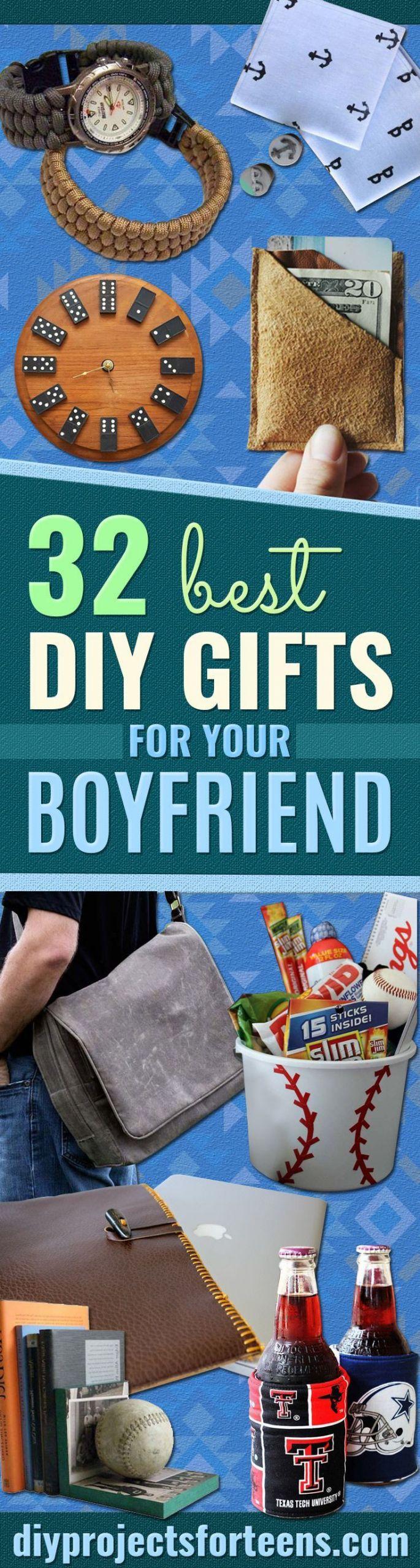 Christmas Gift Ideas For Teenage Boyfriends  32 DIY Gifts for Your Boyfriend