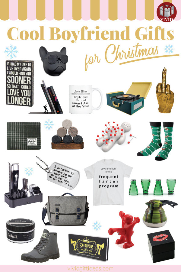Christmas Gift Ideas For Teenage Boyfriends  20 Best Christmas Gifts for Boyfriend 2018