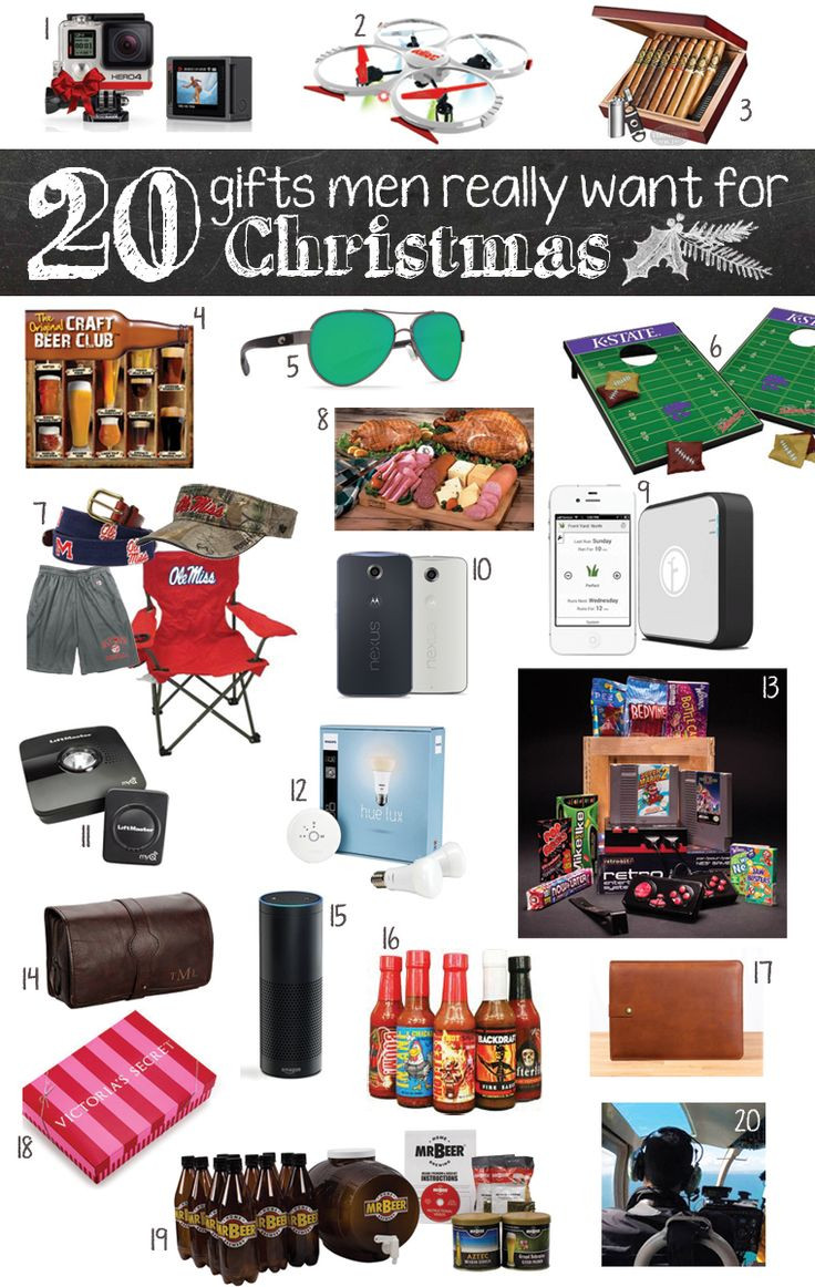 Christmas Gift Ideas For Teenage Boyfriends  20 Gifts Men Really Want for Christmas