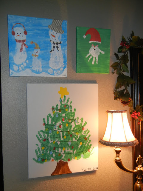 Christmas Painting Ideas For Kids  over 30 fun Christmas tree crafts for kids A girl and a