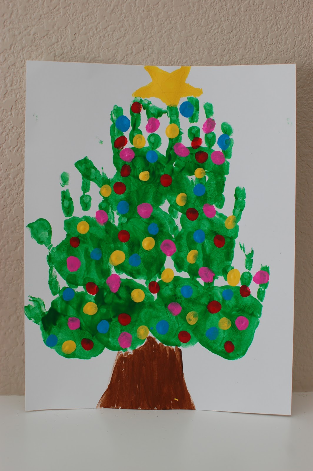 Christmas Painting Ideas For Kids  Pinkie for Pink Kids Christmas Art Projects