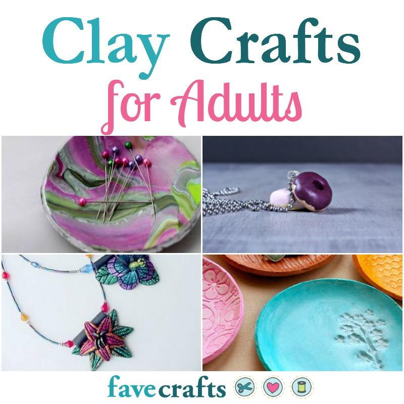 Clay Crafts For Adults  41 Clay Crafts for Adults