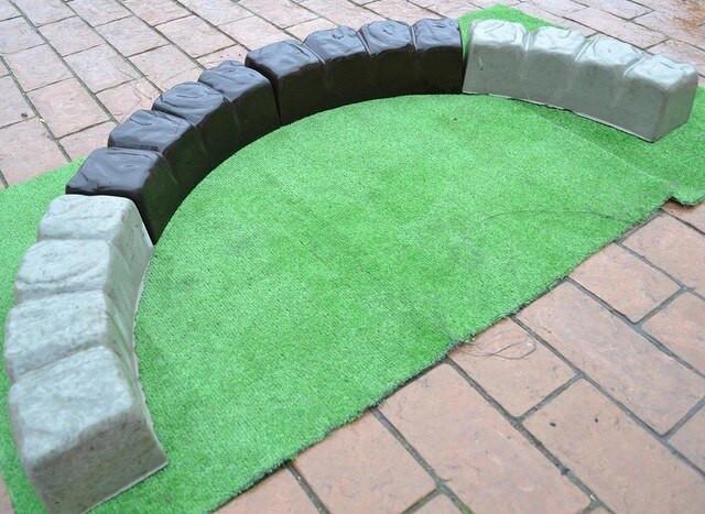 Concrete Landscape Edging Molds  Aliexpress Buy 2 Piece Lot MOLDS 47 2 Inch ROUND