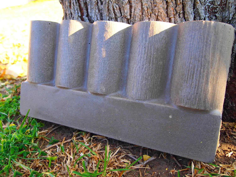Concrete Landscape Edging Molds  Amazing Concrete Landscape Edging Molds 5 Concrete Border