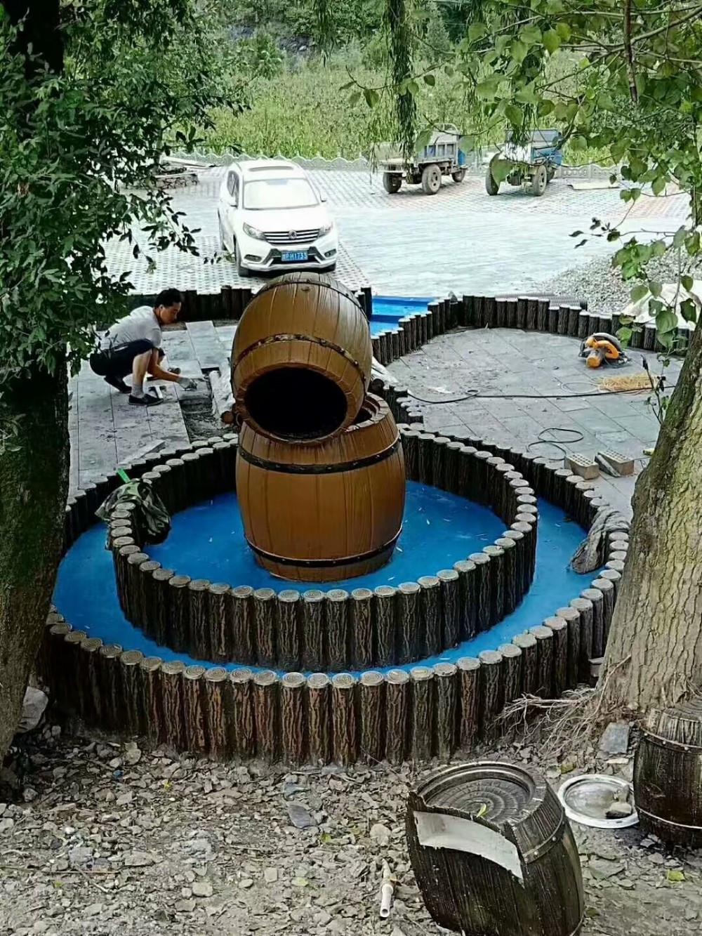 Concrete Landscape Edging Molds  Decorative Precast Plastic Concrete Garden Landscape